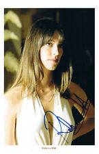 "Rebecca Hall 1982- genuine autograph signed photo 5""x7"" English actress"