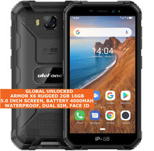 """ULEFONE ARMOR X6 RUGGED 2gb 16gb Shock Waterproof 8.0mp Face Id 5.0"""" Android 3g"""