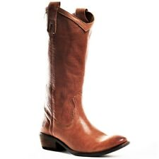 FRYE SHOES CARSON PULL ON BOOTS TAN LIGHT BROWN LEATHER 77687 7 $378 NEW NIB