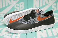 "Nike SB Lunar Oneshot QS ""WORLD CUP"" Black / Safety Orange 645019 008 SZ 9.5"