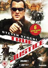 DVD:TRUE JUSTICE - VOLUME 1 (TV SERIES BOXSET) - NEW Region 2 UK