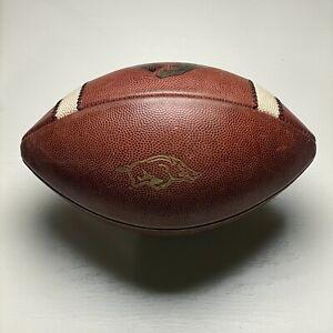 Arkansas Razorbacks Game Used 2014 TEXAS BOWL v Longhorns Nike Vapor 1 Football