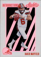 2018 Panini Absolute Football Insert Singles (Pick Your Cards)