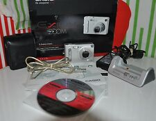 Casio EXILIM ZOOM EX-Z3 3.2 MP Digital Camera - Silver