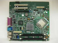 Dell Optiplex 760 MT Tower Motherboard  0M858N or G214D with Core 2 Duo 3Ghz CPU