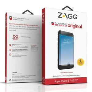 ZAGG iPhone 8 7 6s 6 SE 2020 InvisibleShield Original Wet Apply Screen Protector