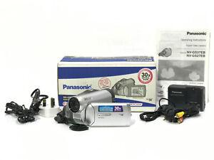 Boxed Set Panasonic NV-GS27 Mini DV Tape Digital Video Camera Handycam + Extras