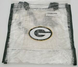 NFL Green Bay Packers Clear Reusable Bag