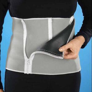 Unisex Neoprene Slimming Waist Belt Sweat Fat Cellulite Sauna Wrap Belly Burner