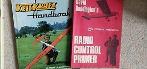 Radio control glider Handbooks. Vintage