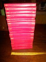LIBRO:Stock N 15 libri BUR Biblioteca Universale Rizzoli copertina rossa e oro