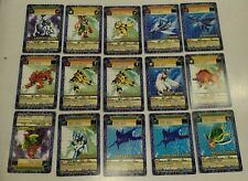 DIGIMON Digi-Battle Card Lot  CARDS Rare 2001 Bandai