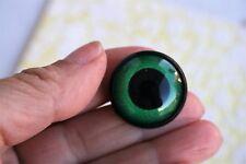 Ojos de seguridad verdes 26 mm para osos de peluche amigurumi juguetes animales