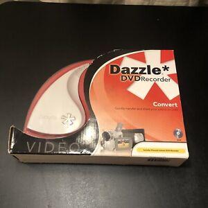 Pinnacle Dazzle DVD Recorder Converter RCA to USB Converts VHS Video