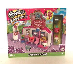 Shopkins Kinstructions Fashion Boutique Building Toy 119 Pieces Ages 6+ Sealed
