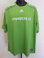 NEW MLS SEATTLE SOUNDERS Adult Mens Size 2XL 2XLarge Adidas JERSEY