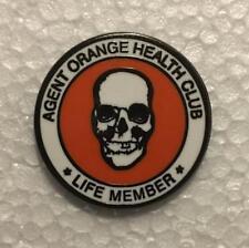 Agent Orange Health Club Life Member Pin