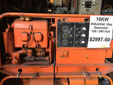 10 Kw Hurcules Generator 4 Cylinder Opposed Gasoline Engines Portable Military