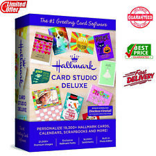 Hallmark Card Studio 2020 Deluxe ✔Lifetime Activation ✔Windows +5 Sec inbox 📩