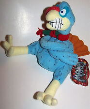 Vintage 1998 Shocking Stuffers Cold Turkey Meanie Babies Twisted Toys Plush