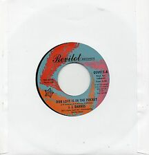 J.J. BARNES   OUR LOVE IS IN THE POCKET/ HOLE IN THE WALL  UK REVILOT/OUTTASIGHT
