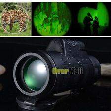 HD 40X60 High Power Binoculars Monocular with Night Vision Outdoor Telescope