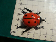 CLEAN, wind up LADYBUG, 1983 WORKS FINE.  neat.