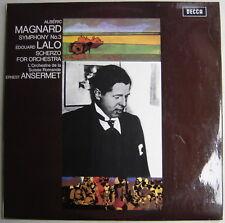 LP Ernest ANSERMET / Magnard Symphony N° 3 & Lalo.. / nice Decca SXL 6395
