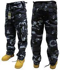 Pantalones Militares Combate MEDIA NOCHE CAMUFLAJE 107cm