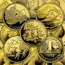 1/2 oz Proof Gold Canadian $100 Coin - Random Year Coin - SKU #68009