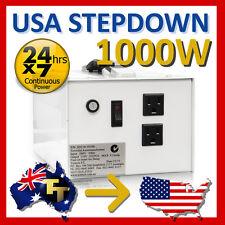 1000 WATT STEP DOWN TRANSFORMER 240V 120V SD110-1010A