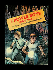"VINTAGE 1965 ""THE MYSTERY OF THE MILLION DOLLAR PENNY"" A POWER BOYS ADVENTURE"