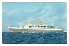 SS Statedam - Holland America Line Postcard c1950's