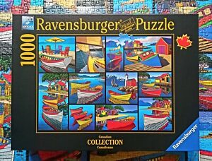Ravensburger Puzzle - On the Water / Canadian Collection - 1000 Teile - 16834