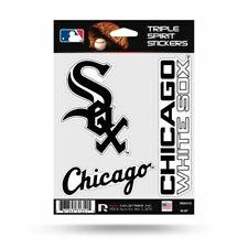 Chicago White Sox Set of 3 Die Cut Decals Stickers Spirit Wordmark