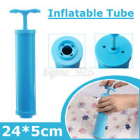 Manual Inflatable Tube Pump For Inflating Vacuum Compression Bags Home Travel