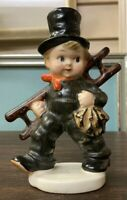 "Rarest Hummel ""Chimney Sweep"" Figurine Double Mark TMK-1 and TMK-2"