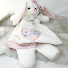 MY NIGHT NIGHT BUNNY Security Blanket Lovey ABC Distributing