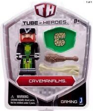 Tube Heroes 3-Inch Caveman Films Figure with Accessory