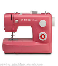 Singer Simple 3223R Pink Retro Sewing Machine 23 Stitches - New in Box!