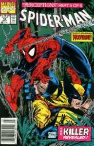Spider-Man #12 Newsstand McFarlane Cover (1990-1998) Marvel
