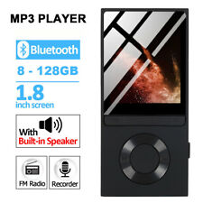 Portable 8gb Mp3 Bluetooth Mp4 Players Music Media Clip Player USB 128gb TF OTG