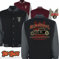 Hotrod 58 American Varsity Jacket Old Skool Gear Monkey Garage Rat Rod Car 201