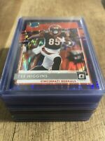 2020 NFL Donruss Optic TEE HIGGINS #160 Purple Shock Prizm RATED ROOKIE HOT MINT