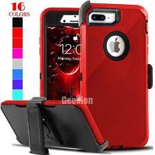 For iPhone 6 6s 7 8 Plus Shockproof Case Cover Belt Clip Fits Otterbox Dedender