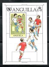 SELLOS DEPORTES FUTBOL. ANGUILLA 1981 HB 39