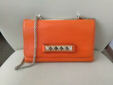 100% Authentic VALENTINO GARAVANI Va Va Voom Bag Orange Leather