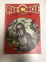 Red Circle (1945) # 1 (VG/F) White Pages