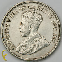1928 Cyprus 45 Piastres, 80k Minted, Silver Coin KM# 19