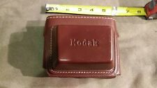 Old vintage Kodak automatic 35 field camera case Brown accessory maybe leather ?
